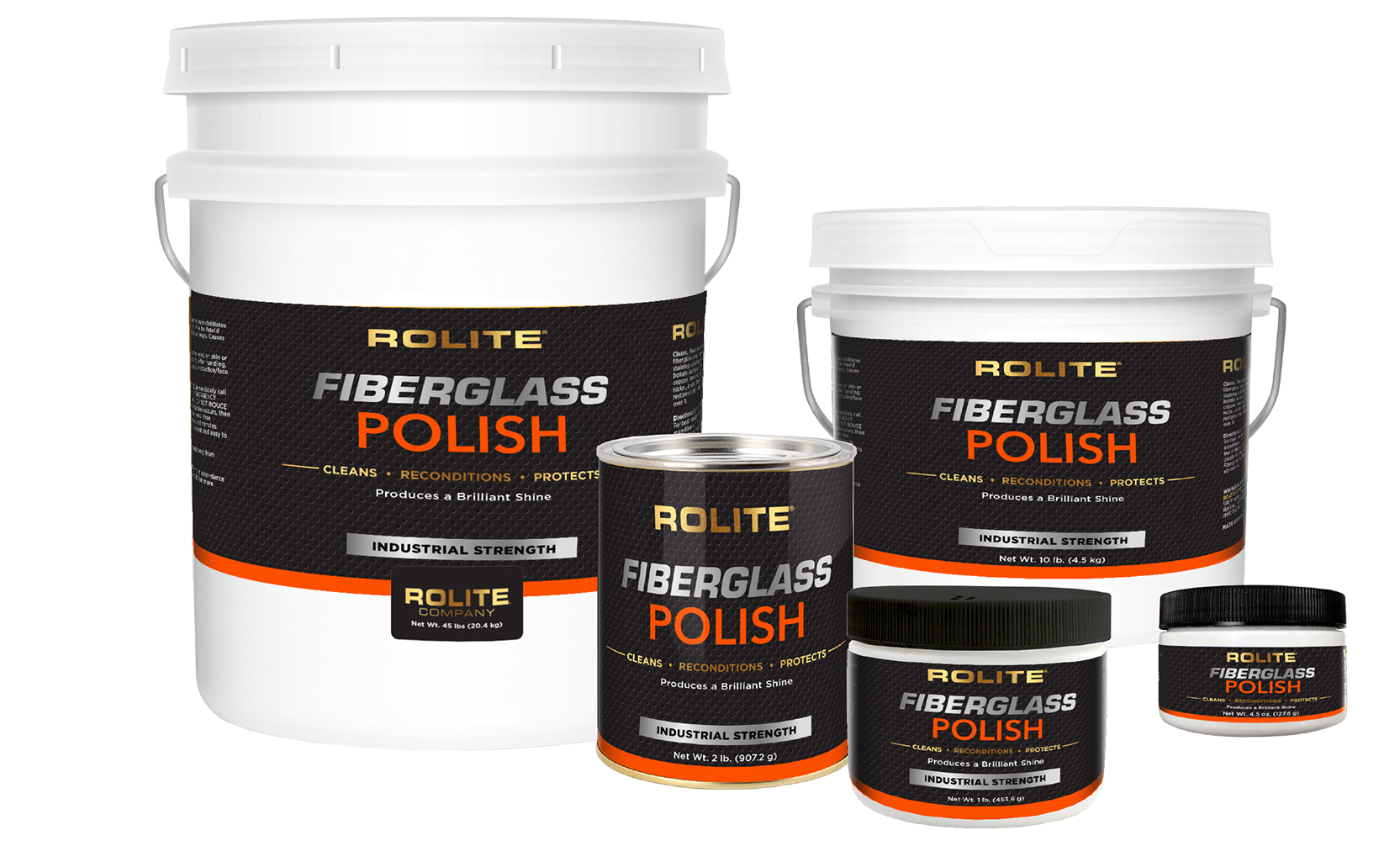 Rolite Fiberglass Polish